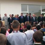 Inaugurare scoala primaria Vitanesti- Simion Nedea