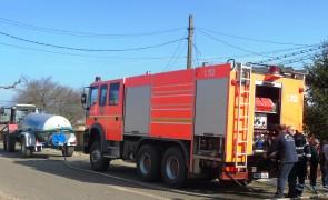 Primaria Vitanesti – interventie SVSU incendiu 4
