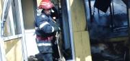 Intervenție SVSU Vitănești incendiu casă individuală- feb.2016