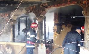 Primaria Vitanesti – interventie SVSU incendiu 8