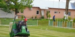 Primaria Vitanesti – intretinere baza sportiva3