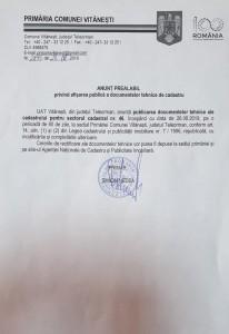 Anunta Primaria Vitanesti
